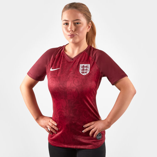 England Short Sleeve T Shirt Ladies