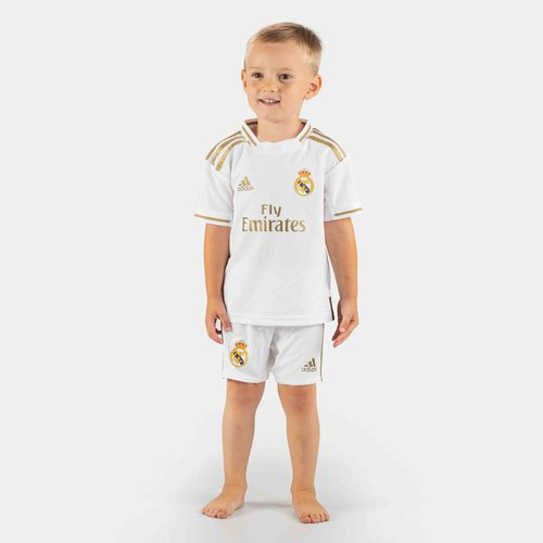 Real Madrid 19/20 Home Mini Kids Replica Football Kit