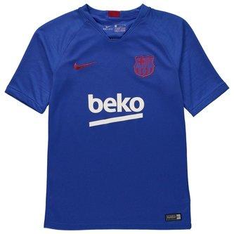 FC Barcelona Breathe Strike Top Junior Boys